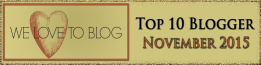 top blogger November